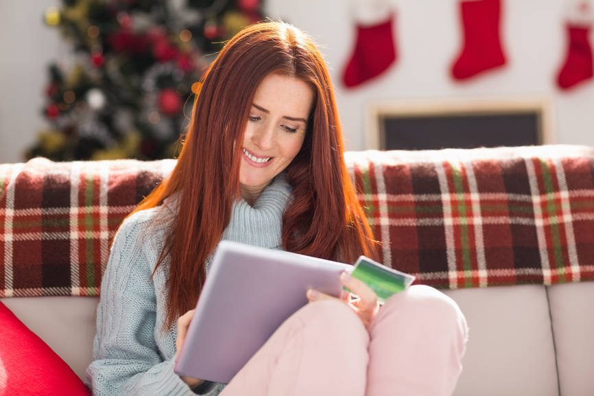 Mobile shopping and holiday Text Message Marketing
