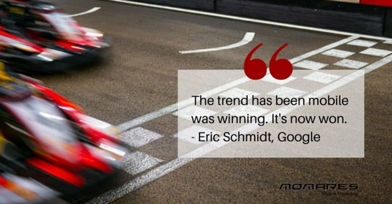 Mobile quote by Eric Schmidt, Google