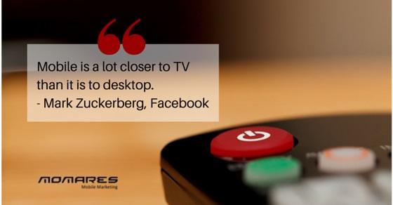 Mobile marketing quote by Mark Zuckerberg