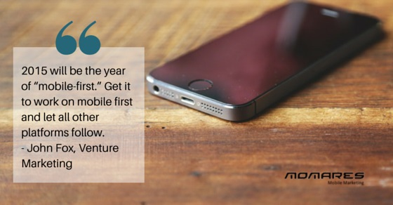 2015: The year of mobile first