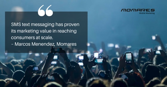 Mobile marketing quote by Marcos Menendez