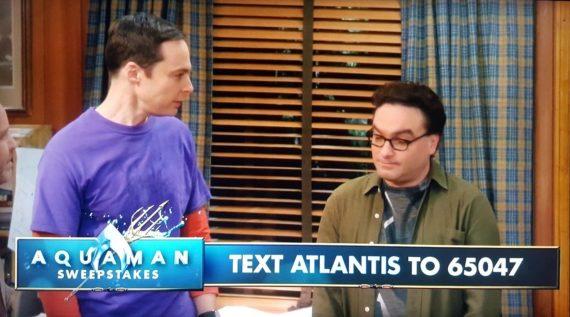 Aquaman, BigBang, text to win