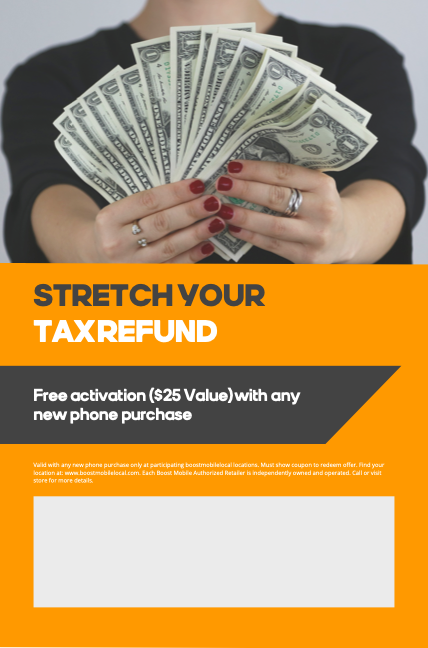 Boost Mobile's Stretch Your Tax Dollars AirPods Pro Giveaway Coupon - Sweeppea
