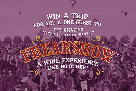Freakshow Weekend Sweepstakes Entry Page