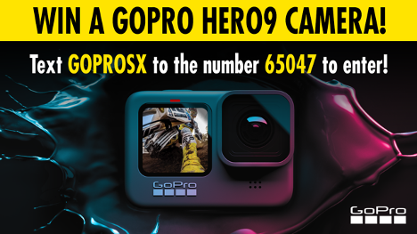 GOPRO Text to Win Sweepstakes