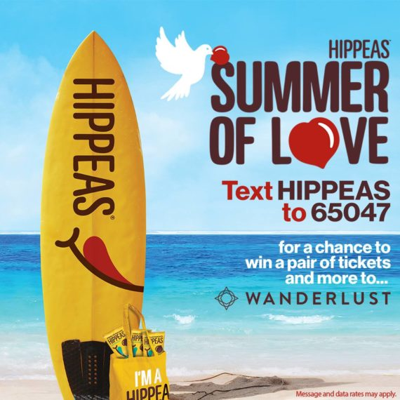 Hippeas snack brand uses text to win