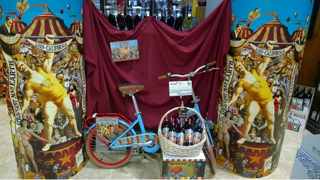 Michael David Winery Text to Win Promotion Display - sweeppea
