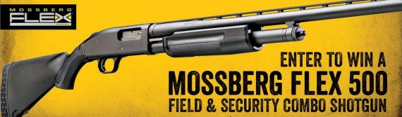 Mossberg Flex Shotgun is Prize for Text to Win Gun Sweepstakes