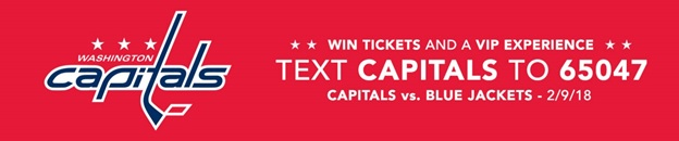 NHL Washington Capitals Text to Win Case Study - sweeppea