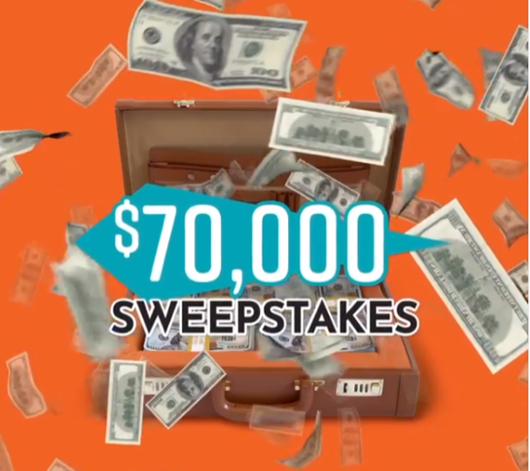 NORM'S Sweepstakes Social Media Ads