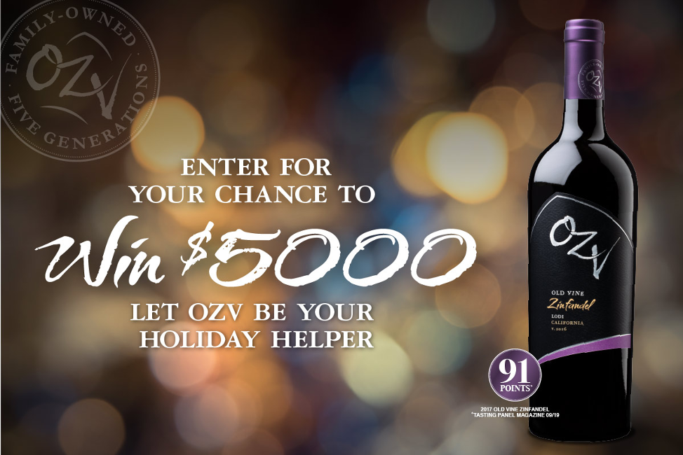 Oak Ridge Winery Text to Win Sweepstakes