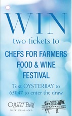 Oyster Bay Text to Win Sweepstakes Bottle Necker Front - Case Study