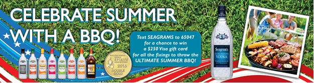 Seagram's Summer Text to Win - Sweeppea