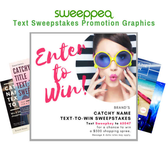 Text Sweepstakes Graphics by Sweeppea