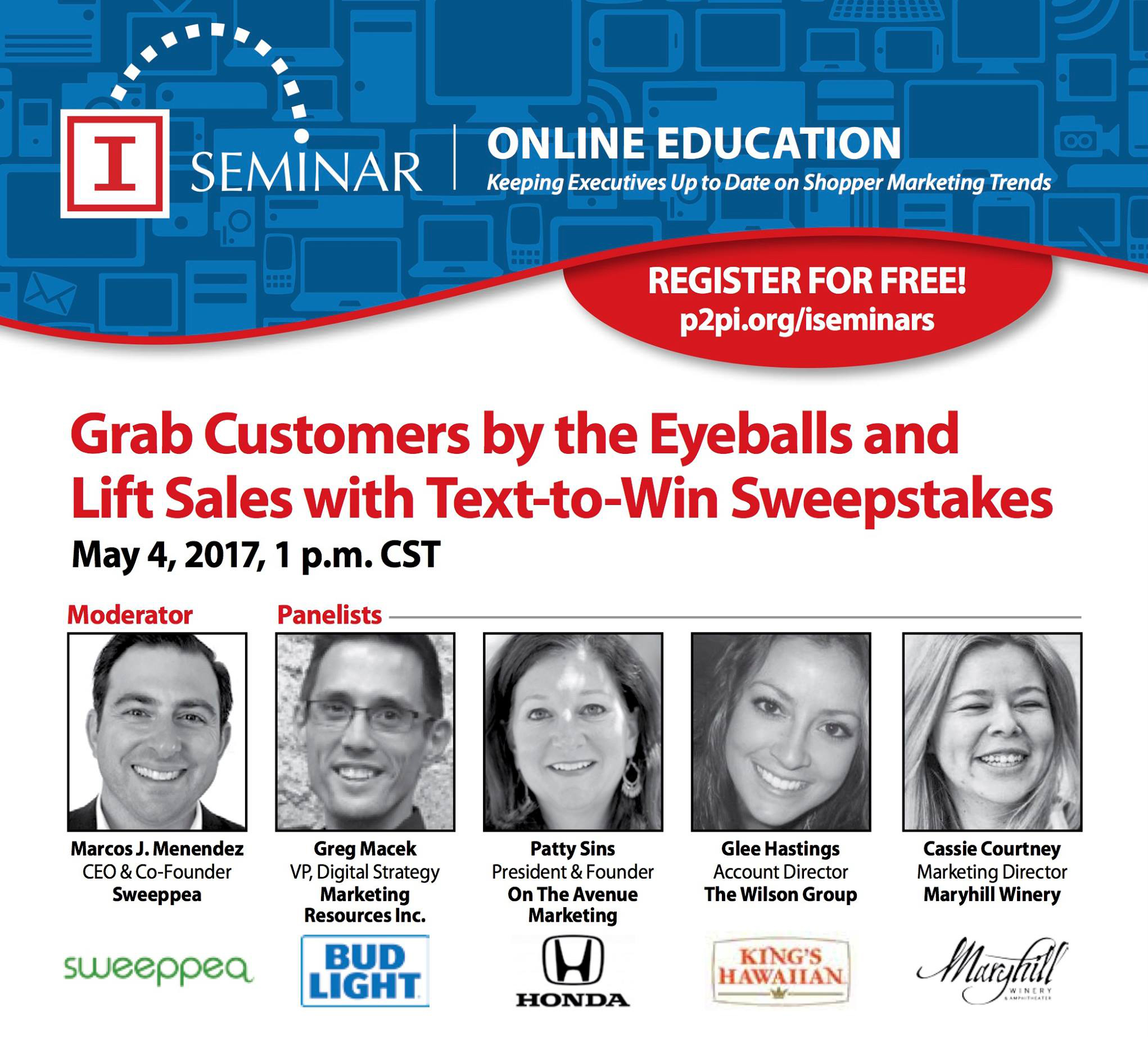 Learn how to grab more customers by the eyeballs with a mobile sweepstakes!