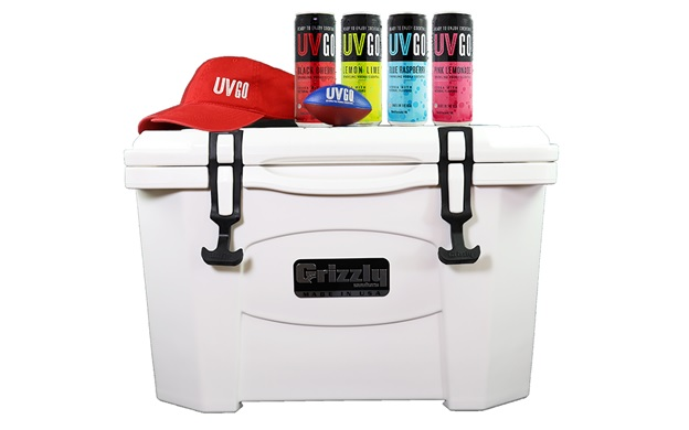 UVGO Tailgating Cooler Text to Win