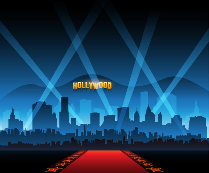 Hollywood, movie, red carpet background, celebrity sweepstakes, text sweepstakes