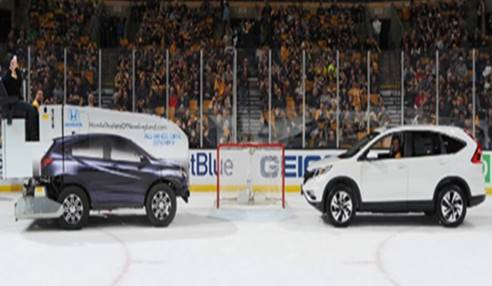 Honda Offers Chance to Win a Car During Bruins Hockey Games