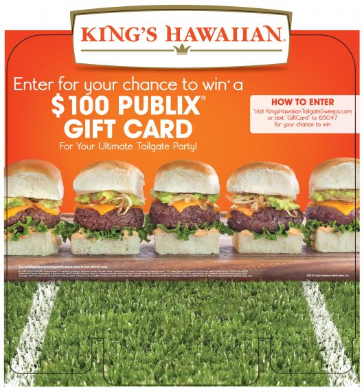 King's Hawaiian and Publix Supermarket Text-to-Win A Trip to the Pro Bowl