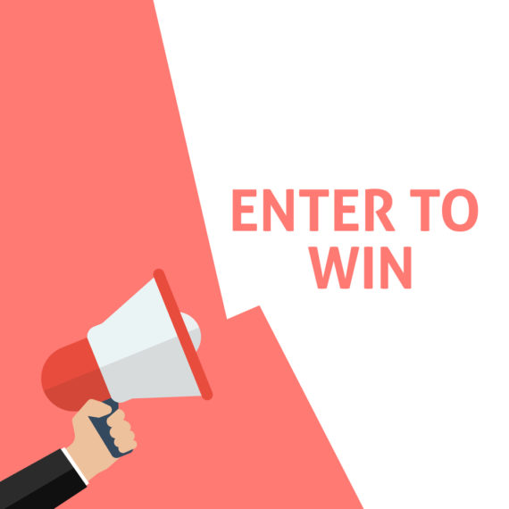 sweepstakes entries, enter to win announcement
