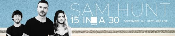Text to Win Concert Promotion for Sam Hunt